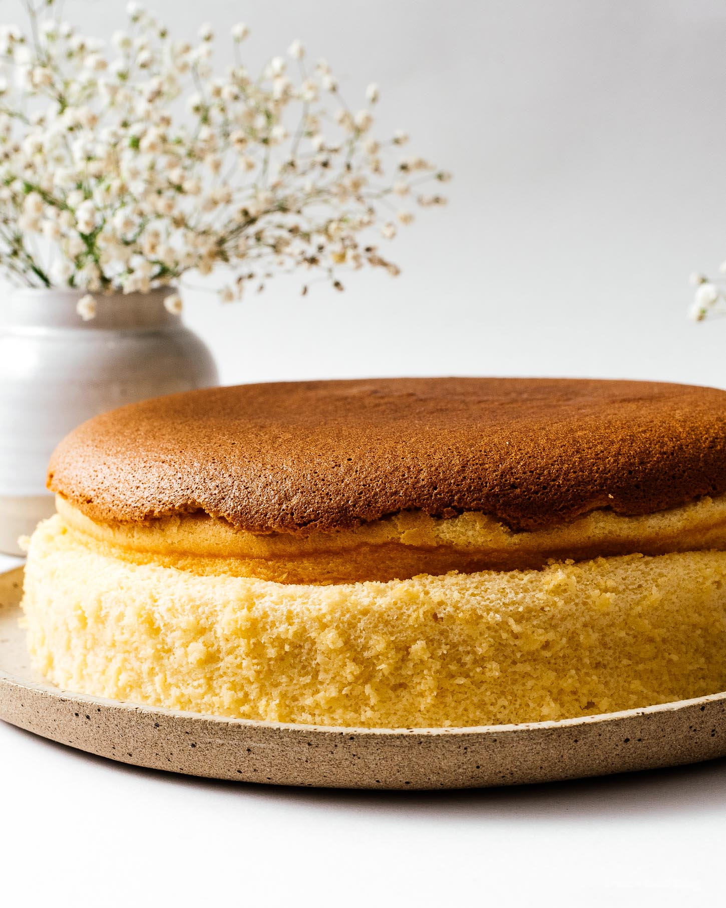 Japanese cotton cheesecake is the perfect combination of sponge cake, taste and texture-wise. With the pillowy soft cottony, light as air texture of soufflé, just the right sweetness, perfectly fluffy and jiggly with a hint of tart cream cheese. #cottoncheesecake #cottoncheesecakerecipe #japanesecheesecake #japanesecheesecakerecipe #cheesecake #cheesecakerecipe #recipes #jigglycheesecake