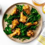 Air fryer chicken wings are so crispy and juicy you won't believe they weren't deep fried! Seriously good and so easy. Eat them naked, with salt and pepper, or toss them in a salty, sweet, sour Vietnamese fish sauce that will leave you begging for more. #airfryer #chickenwings #wings #airfryerwings #recipes #dinner #appies #vietnamesefood