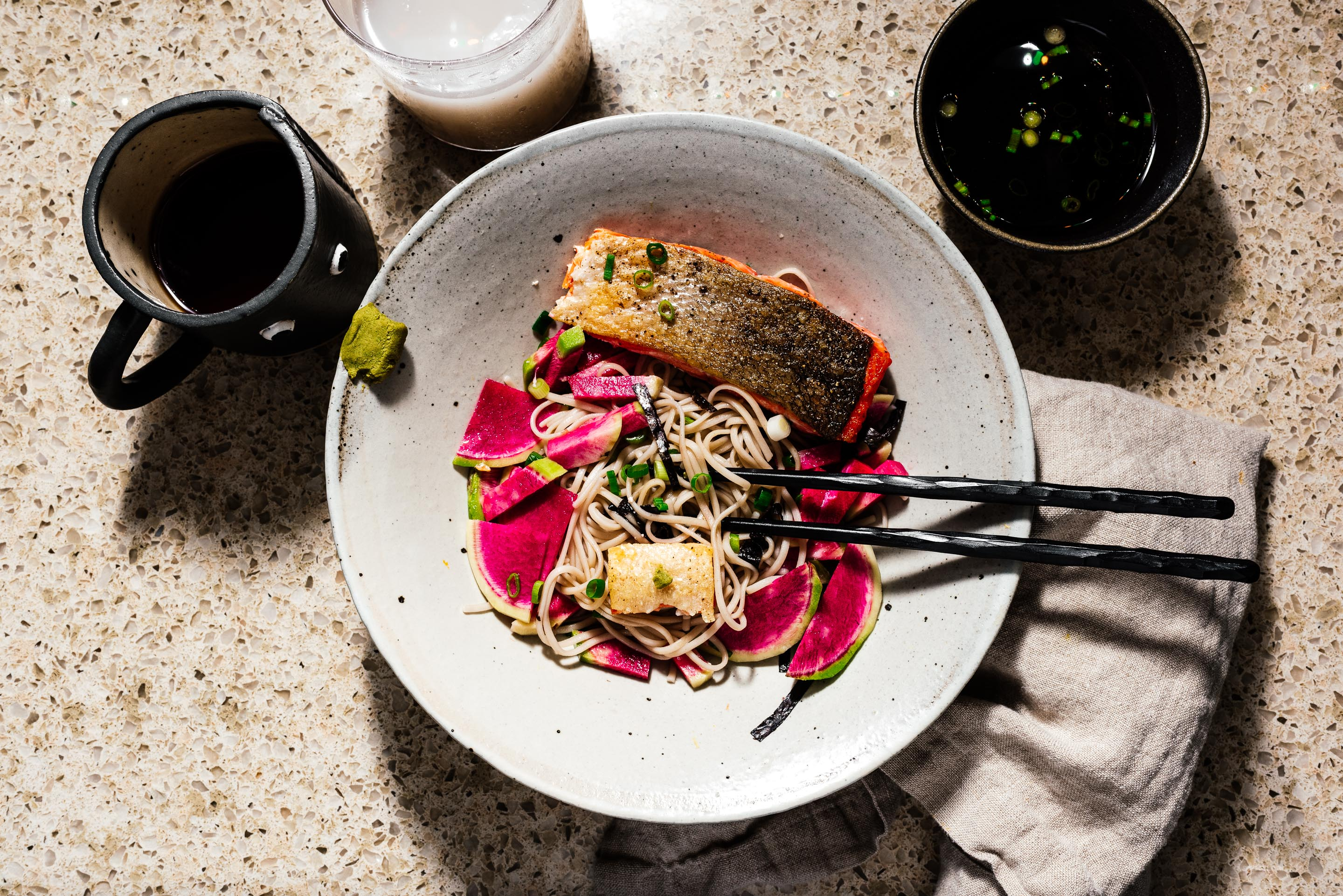 The best weeknight dinner for summer is 10 minute cold soba recipe