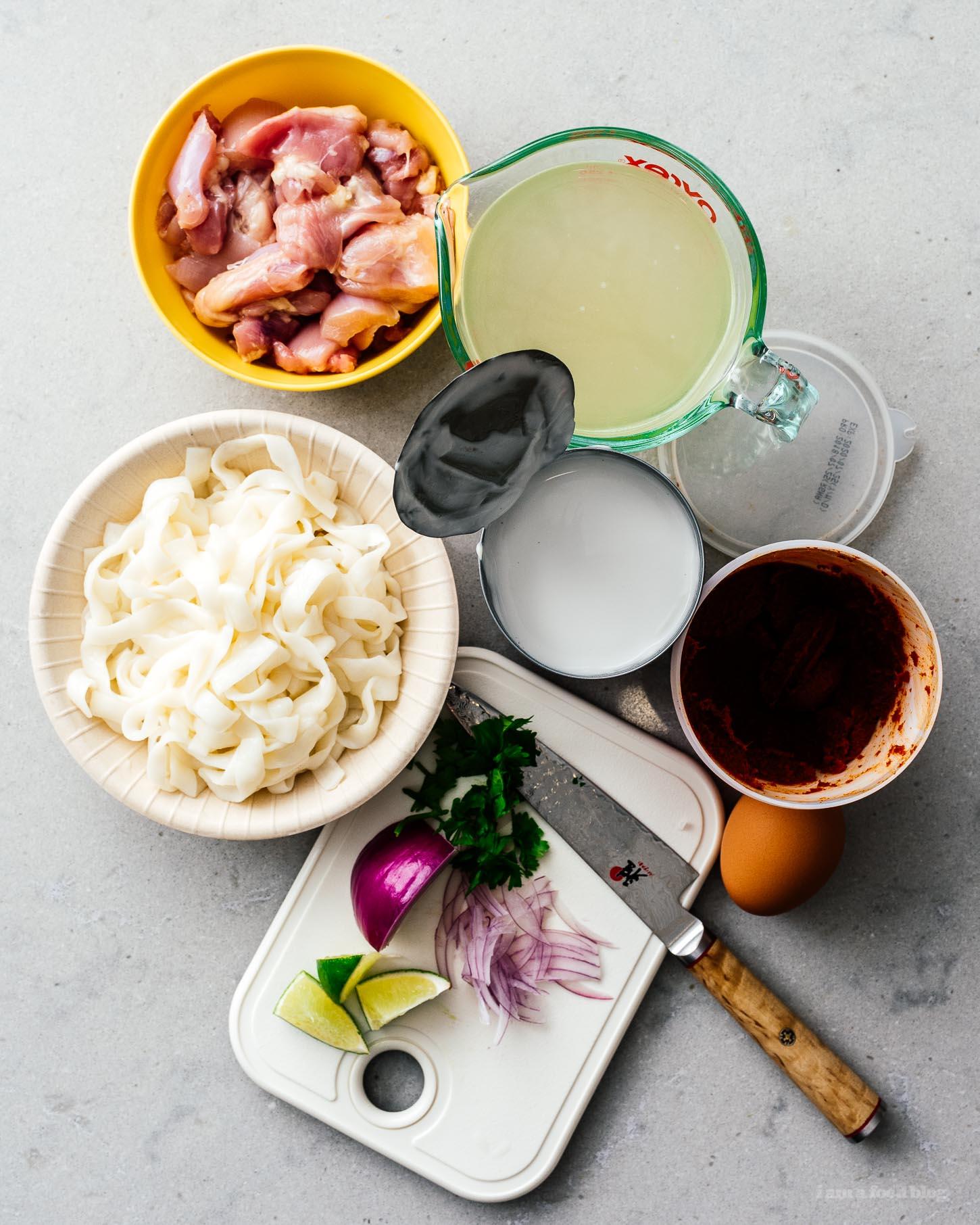 low carb keto-friendly thai red curry shirataki noodle soup #soup #thai #recipes #shirataki #curry #keto #lowcarb #keto recipes