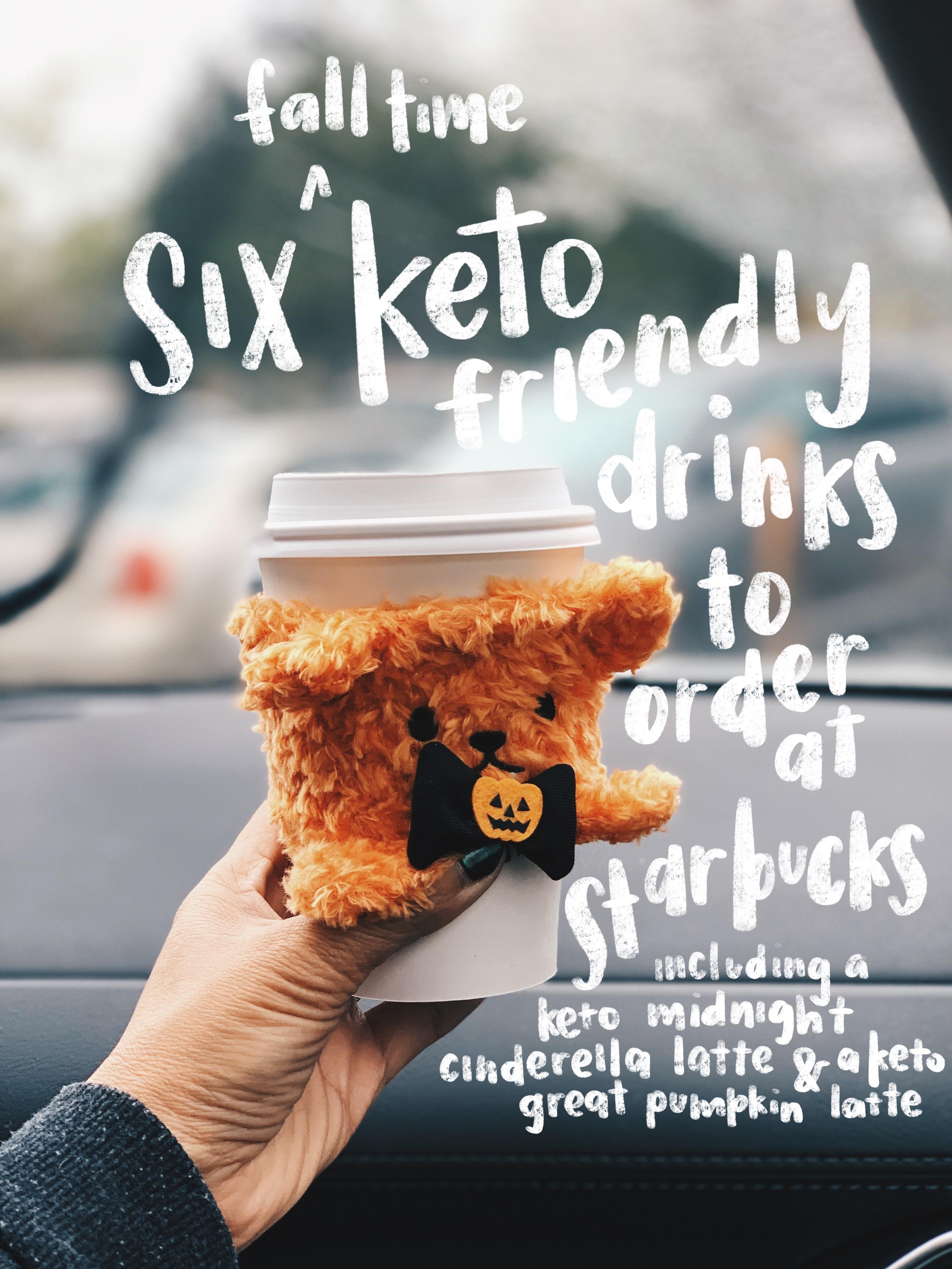 keto friendly starbucks drinks