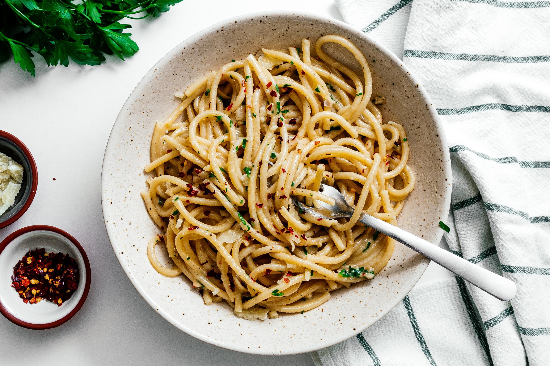 Grown Up Buttered Noodles Garlicky Brown Butter Parmesan Noodles I Am A Food Blog