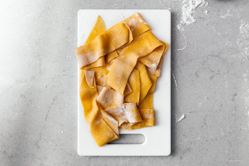 Fresh pasta at home is easier than you think. This easy almost-no-work recipe will show you how to make pasta as good as the fancy Italian place in town.