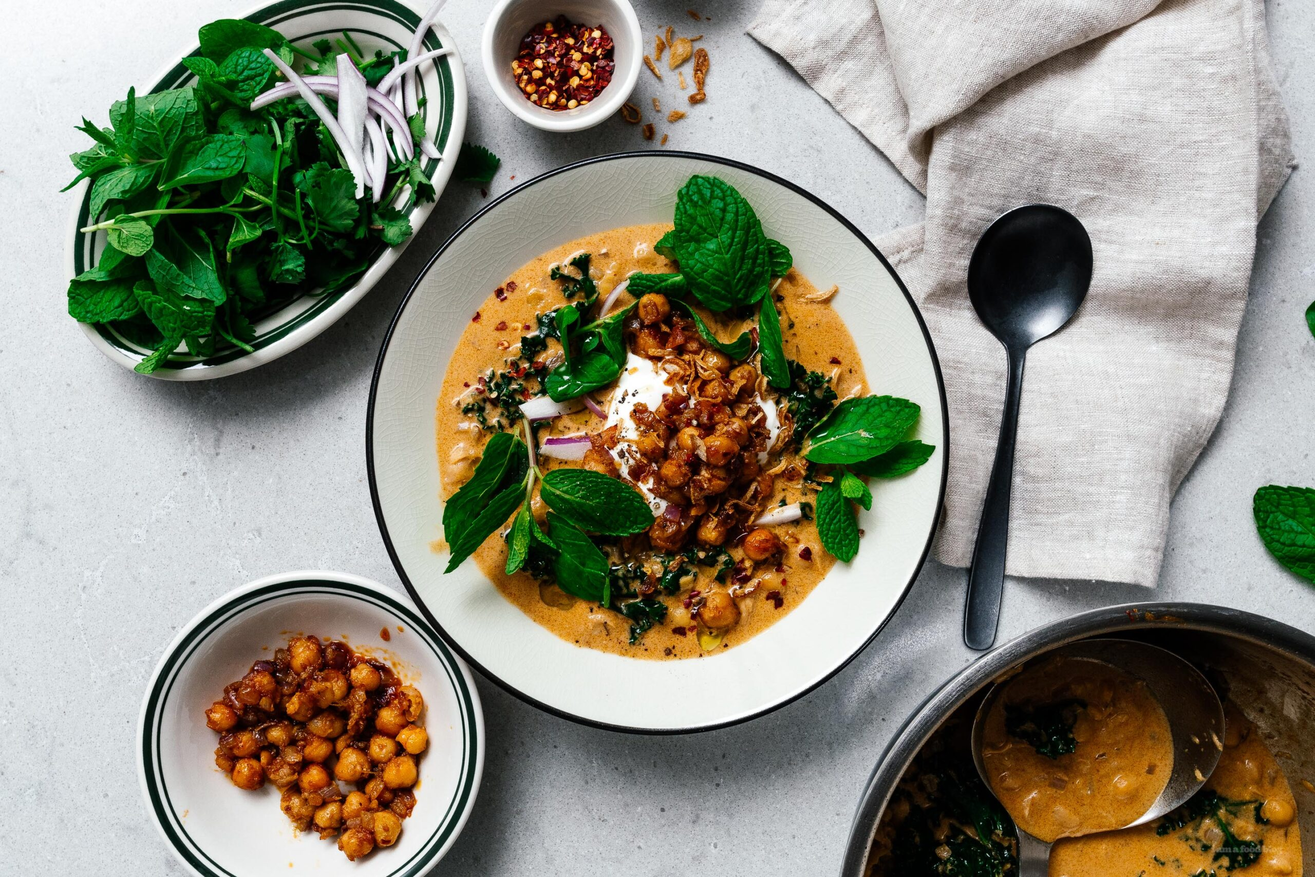 Coconut Curry Chickpea Stew