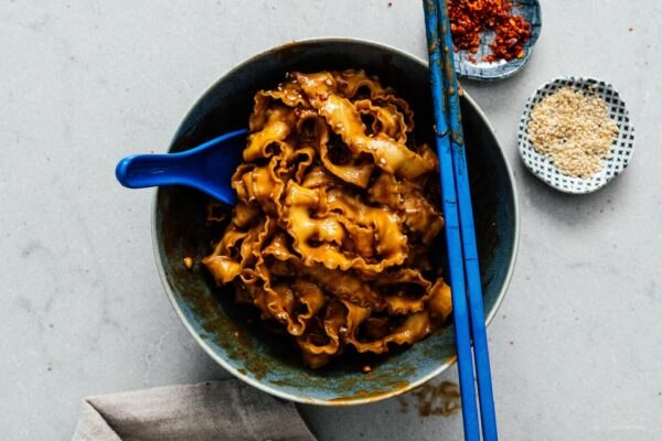 Better Than Takeout Sesame Noodles Recipe | www.iamafoodblog.com