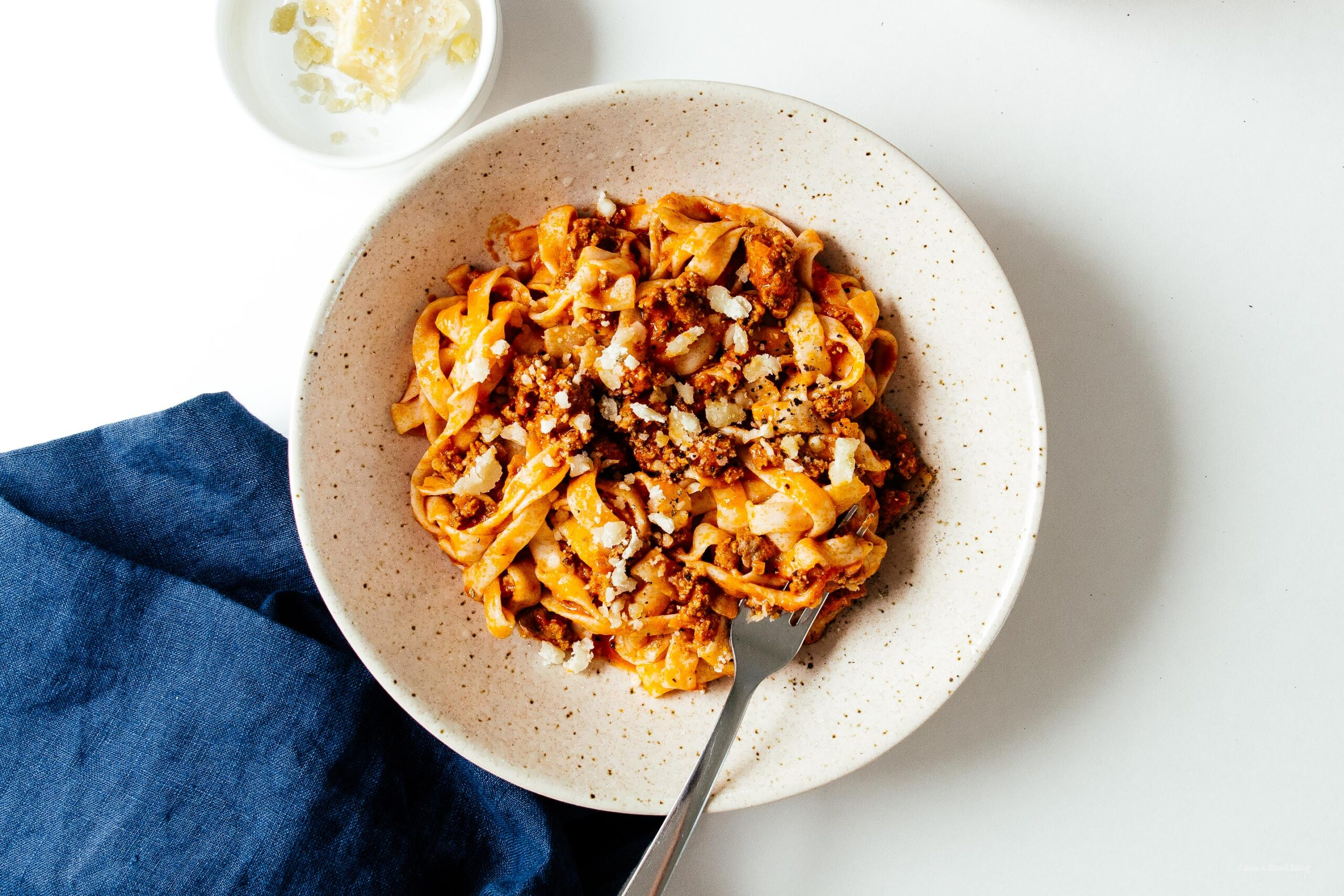 Keto-Friendly Low Carb Bolognese with Shirataki Noodles | www.iamafoodblog.com