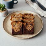 Small Batch Black Bottom Banana Bread | www.iamafoodblog.com