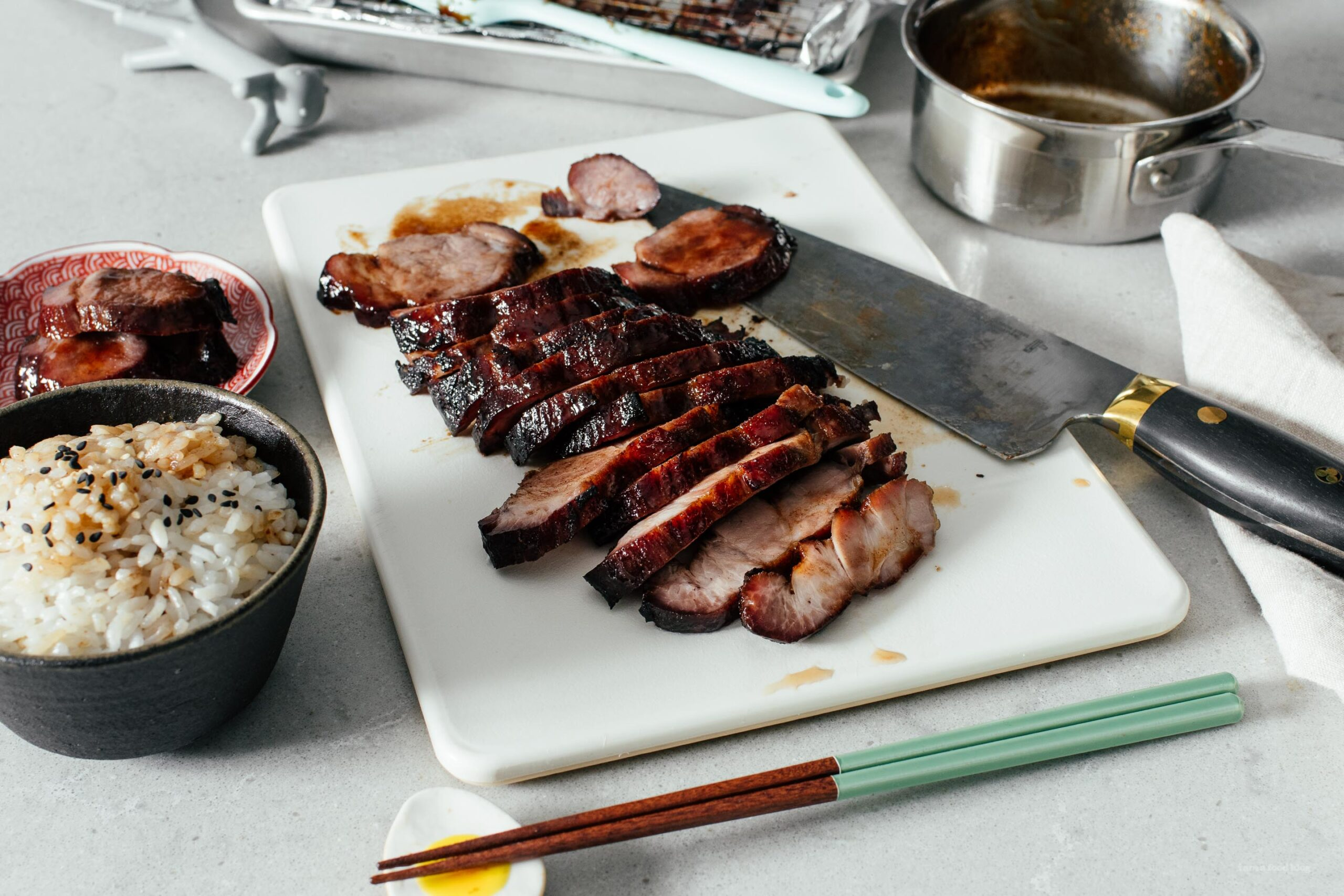 A Really Easy Chinese BBQ Pork aka Char Siu Recipe | www.iamafoodblog.com
