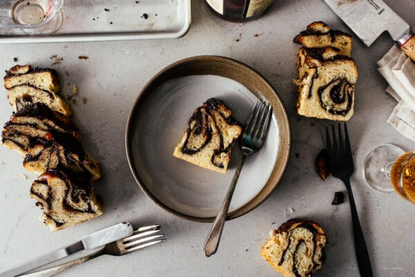 Small Batch Mini Chocolate Sourdough Babka Loaf | www.iamafoodblog.com