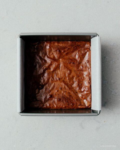 Super Chocolatey Extra Small Batch Brownies   www.iamafoodblog.com
