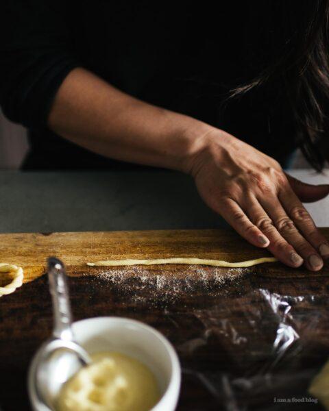 Super Simple Two Ingredient Semolina Pasta | www.iamafoodblog.com