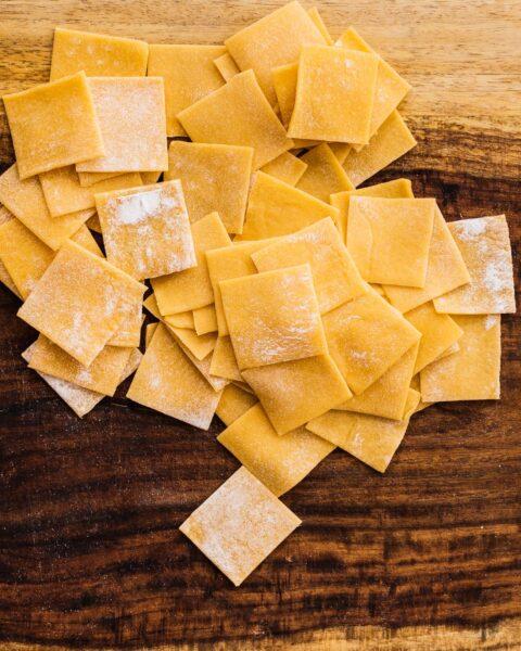 How to Make Homemade Garganelli | www.iamafoodblog.com