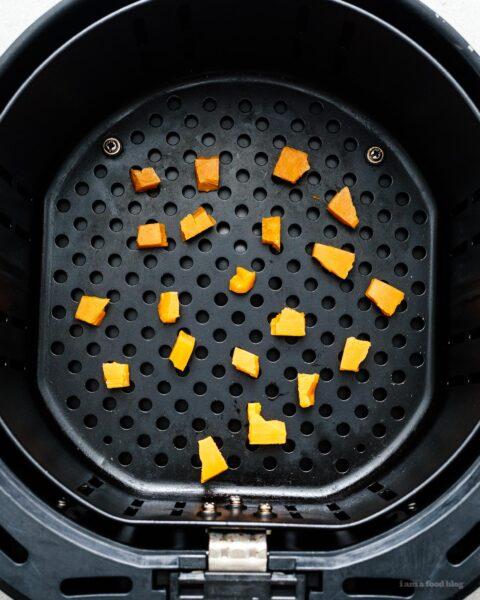 Keto Air Fryer Popcorn Cheese Puffs Recipe   www.iamafoodblog.com
