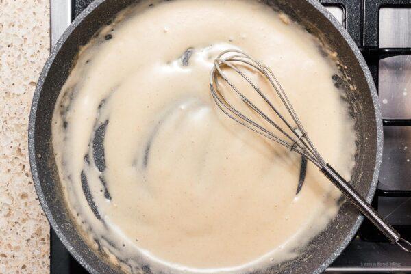 Sour Cream and Onion Pasta Recipe | www.iamafoodblog.com