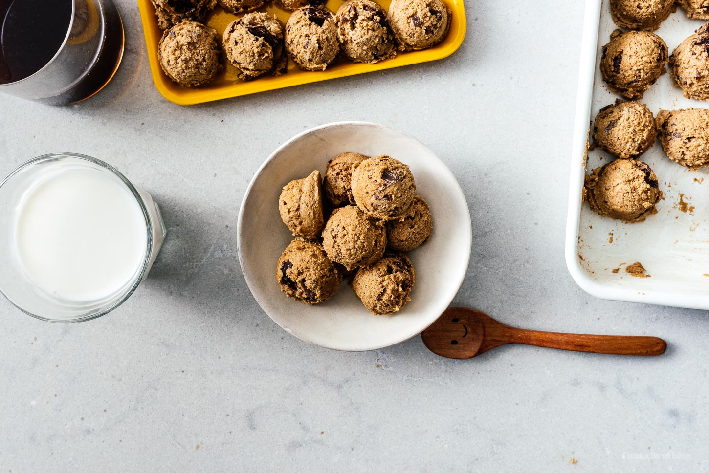 edible cookie dough for one | www.iamafoodblog.com