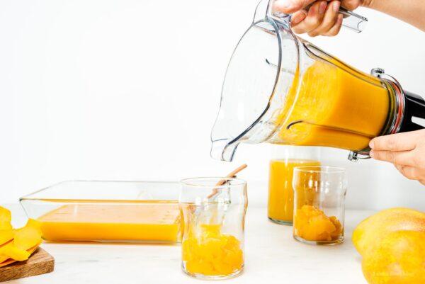 mango smoothie | www.iamafoodblog.com