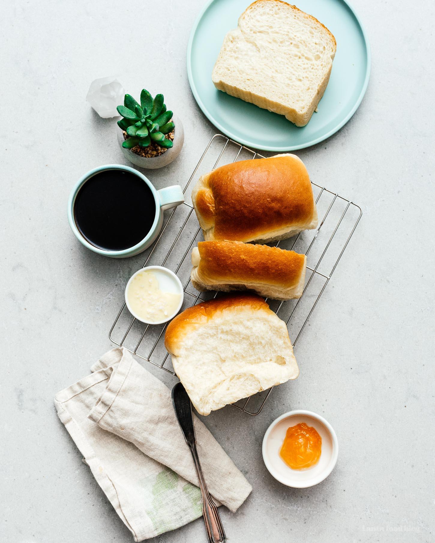 hokkaido milk bread   www.iamafoodblog.com