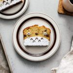 halloween treats: totoro banana bread | www.iamafoodblog.com