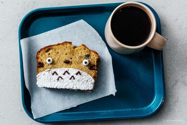 totoro banana bread | www.iamafoodblog.com