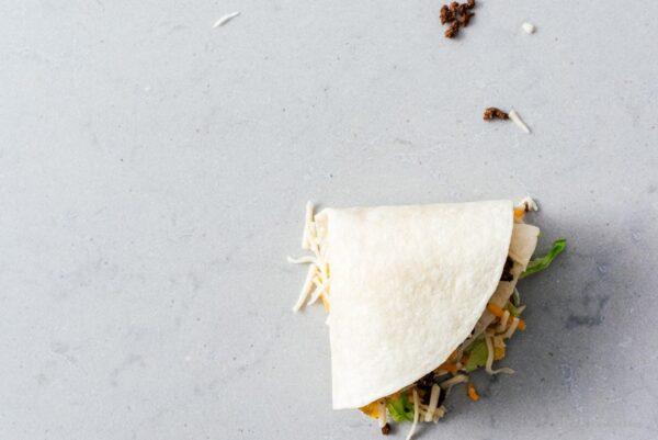 folding tiktok wrap hack | www.iamafoodblog.com