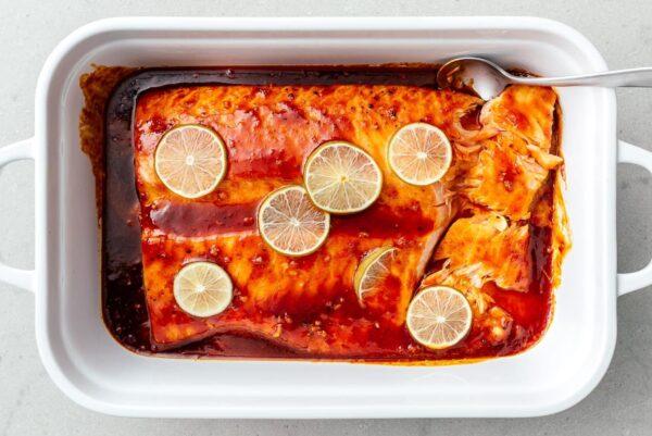 baked salmon   www.iamafoodblog.com