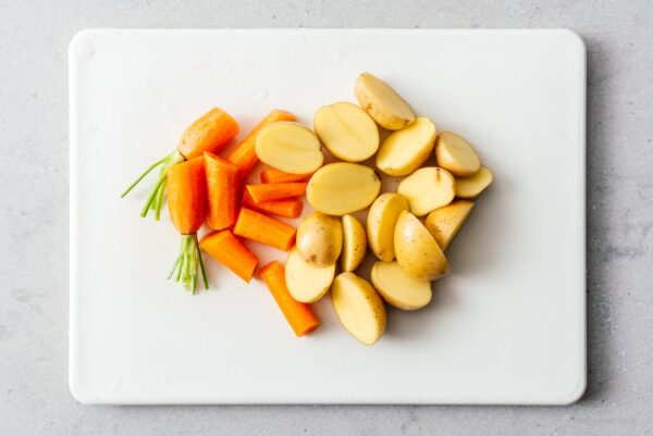 carrots and potatoes   www.iamafoodblog.com