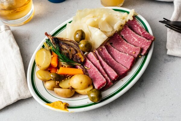 corned beef and cabbage   www.iamafoodblog.com